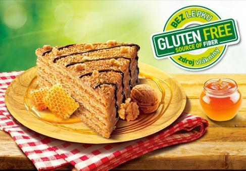 Glutenfreie Honigtorte MARLENKA mit Walnüssen